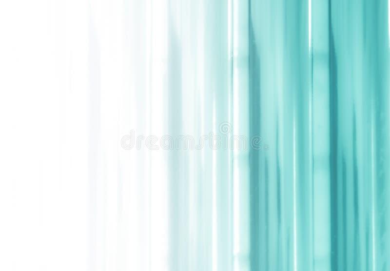 Elegancki pasiasty turkusowy tło wzoru fading w biel przestrzeń royalty ilustracja
