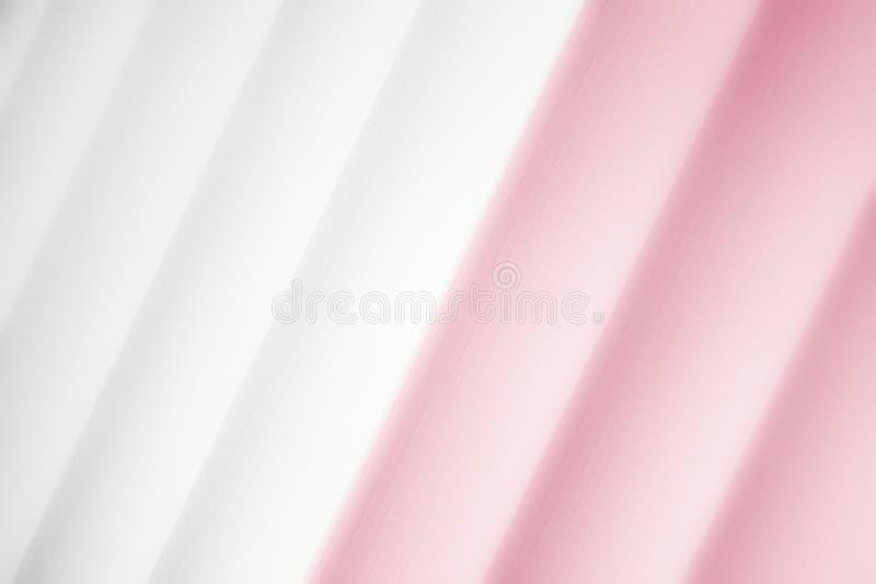 Elegancki pasiasty wałkoni się tło deseniowego fading w biel przestrzeń ilustracja wektor