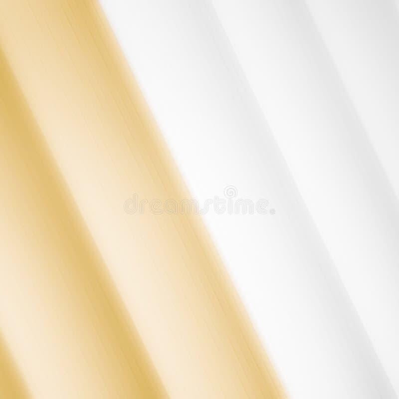 Elegancki pasiasty złocisty tło wzoru fading w biel przestrzeń ilustracja wektor