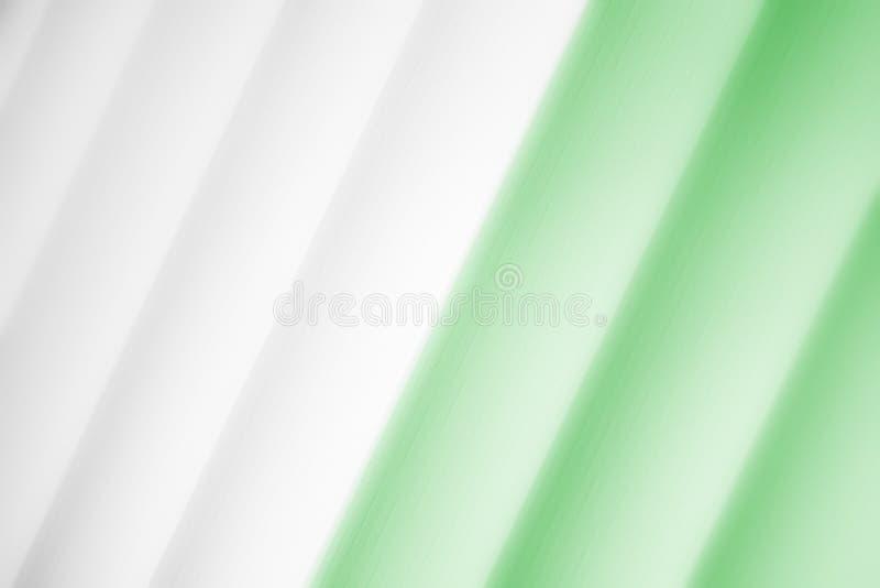 Elegancki pasiasty zielony tło wzoru fading w biel przestrzeń royalty ilustracja