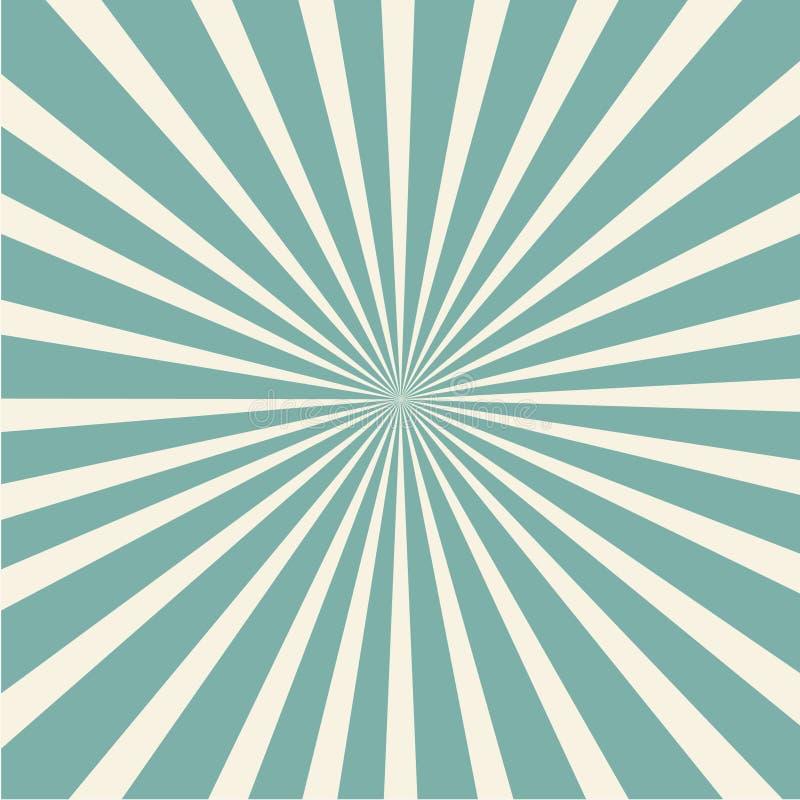 Elegancki popielaty abstrakcjonistyczny starburst & sunburst tło royalty ilustracja