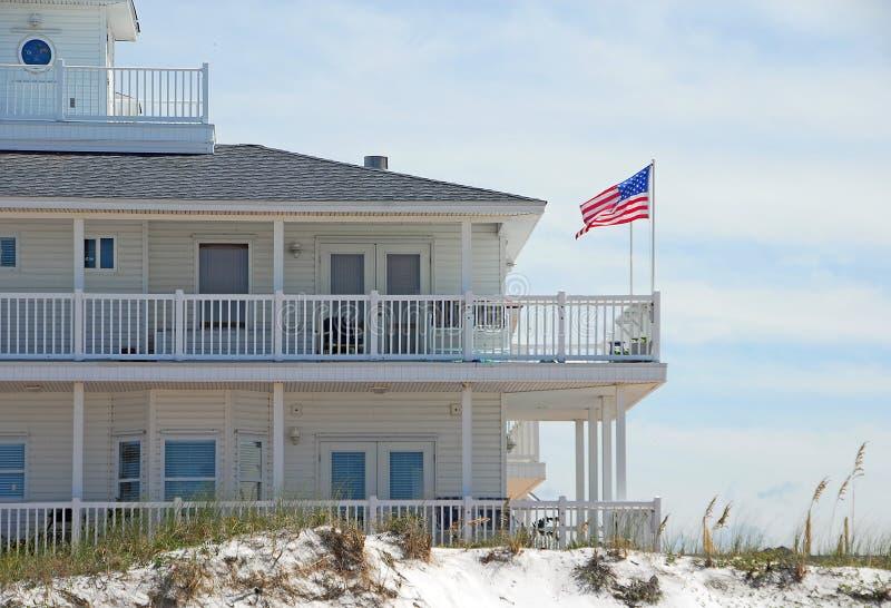 elegancki przybrzeżnych dom obraz royalty free