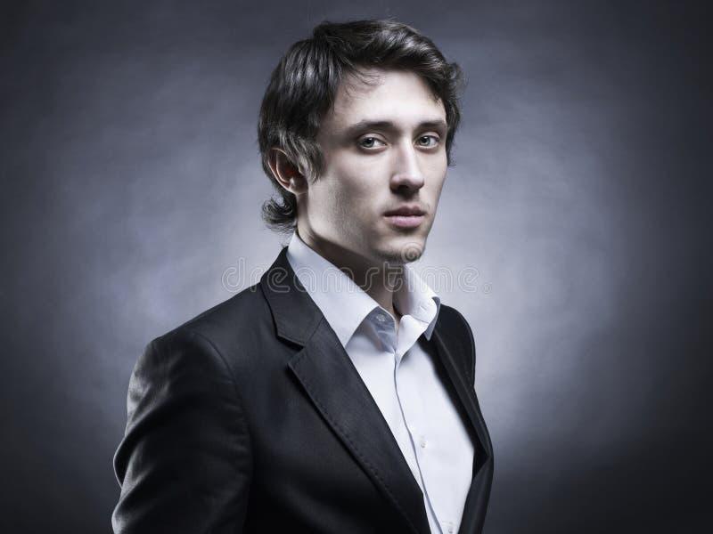 elegancki przystojny mężczyzna obraz stock