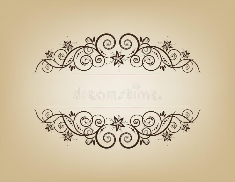 elegancki ramowy roczne royalty ilustracja