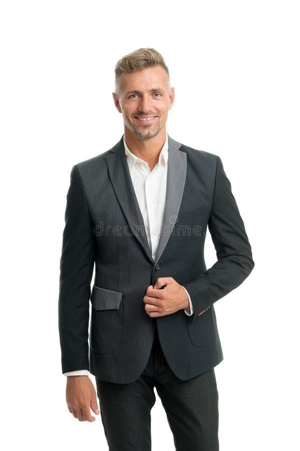 Elegancki strój dla wydarzenia Dżentelmenu nowożytny stylowy fryzjer męski Fryzjera m?skiego sklepu poj?cie Facet odzieży dobrze  zdjęcie stock