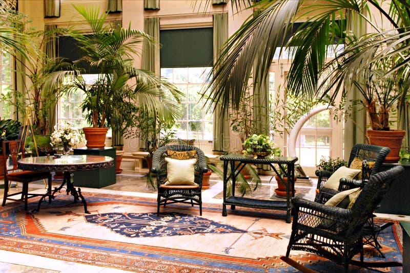Elegancki Sunroom obrazy royalty free