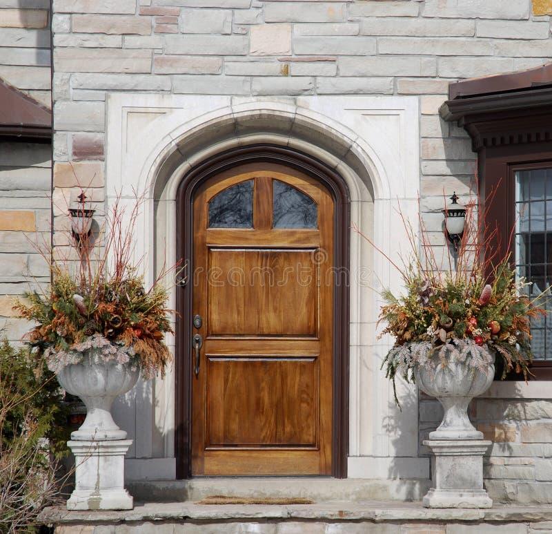 elegancki wejścia do domu zdjęcie stock