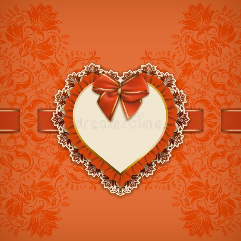 Elegancki wektorowy szablon dla luksusowego zaproszenia, royalty ilustracja