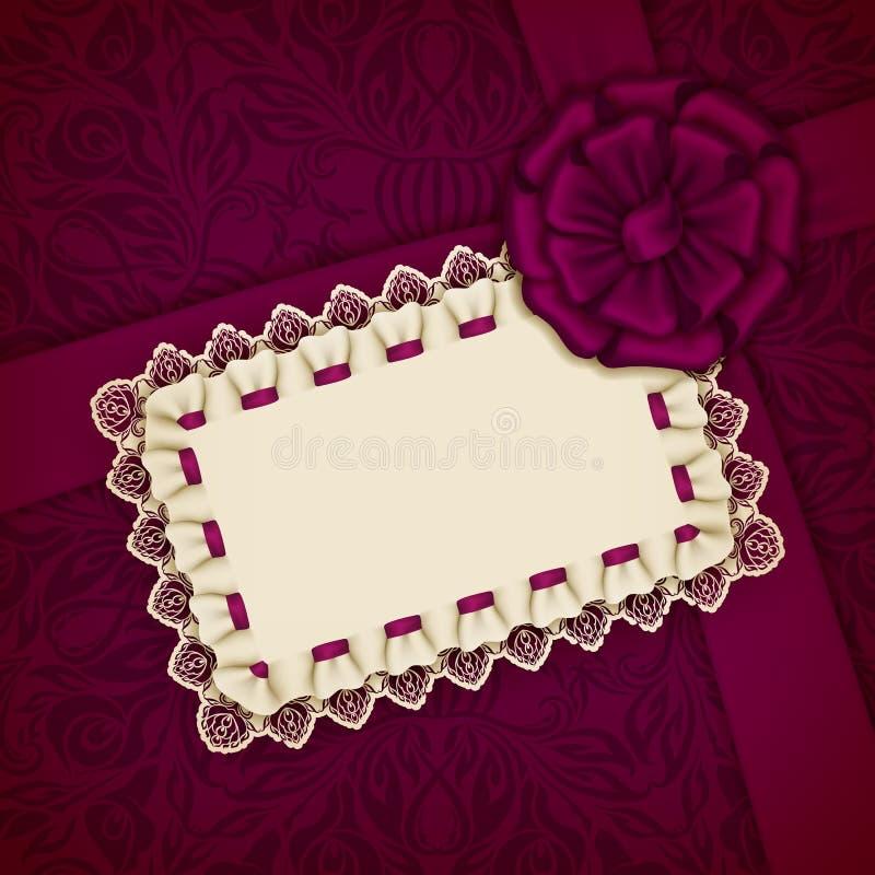 Elegancki wektorowy szablon dla luksusowego zaproszenia, karta royalty ilustracja
