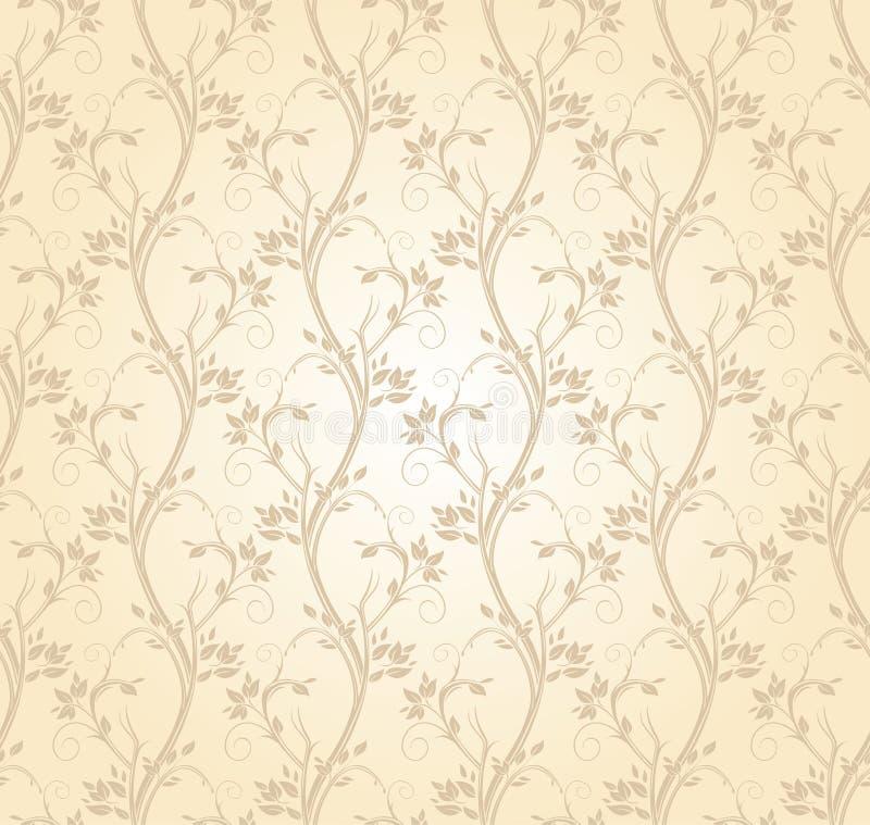 Elegancki winogradu tło ilustracji