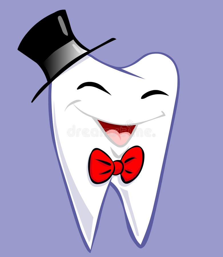 elegancki ząb ilustracji