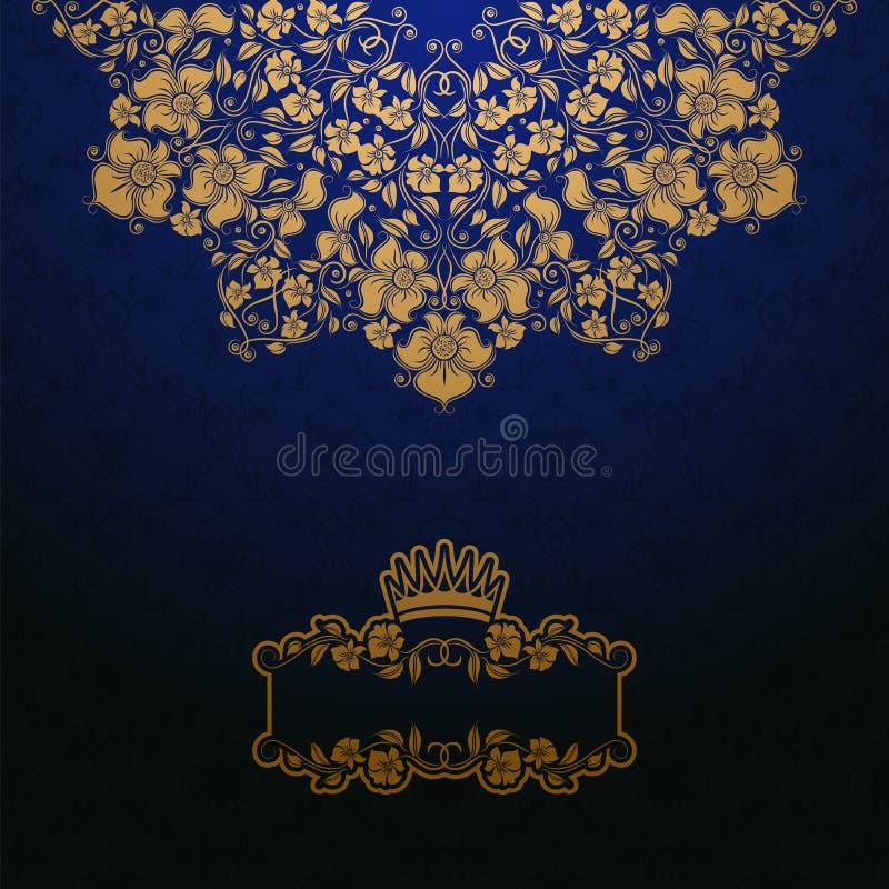 Królewski tło ilustracja wektor