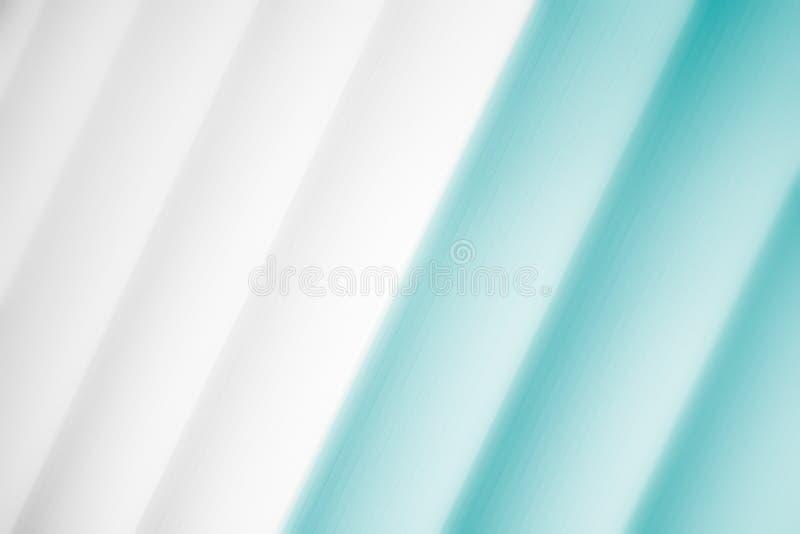 Eleganckiego pasiastego oceanu tła wzoru turkusowy fading w biel przestrzeń ilustracja wektor