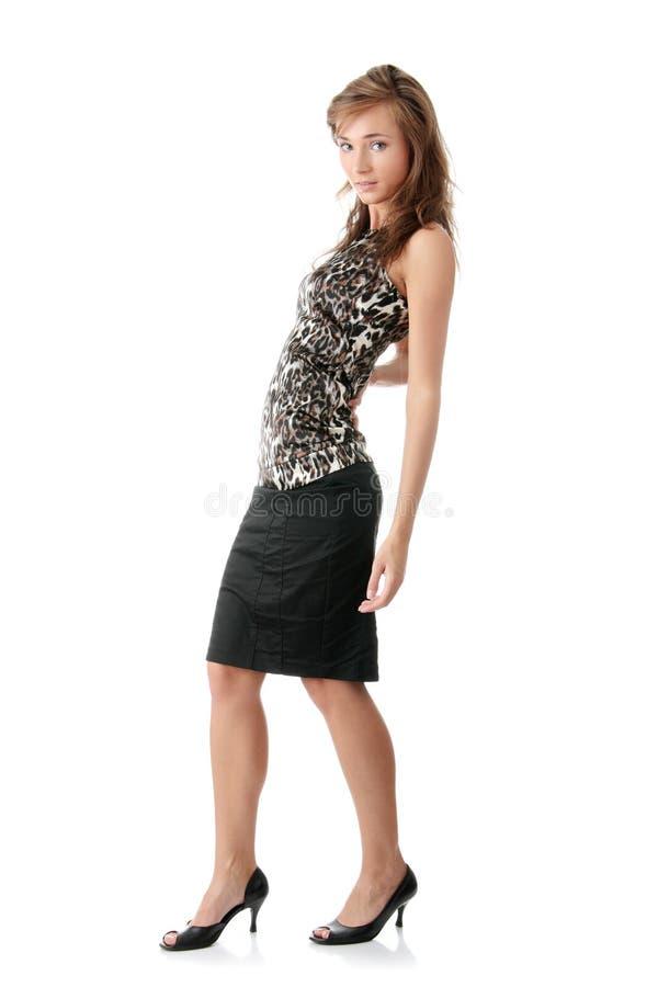 Download Eleganckiej Kobiety Potomstwa Zdjęcie Stock - Obraz złożonej z splendory, atrakcyjny: 13337434