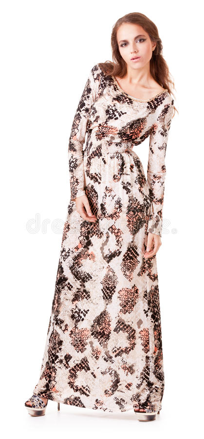 Download Elegancy Stylish Lady Wearing Fashion Dress Royalty Free Stock Photography - Image: 25332947
