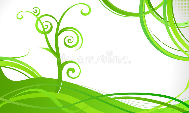 Elegant abstract background stock illustration
