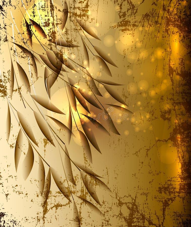 Elegant abstract design royalty free illustration