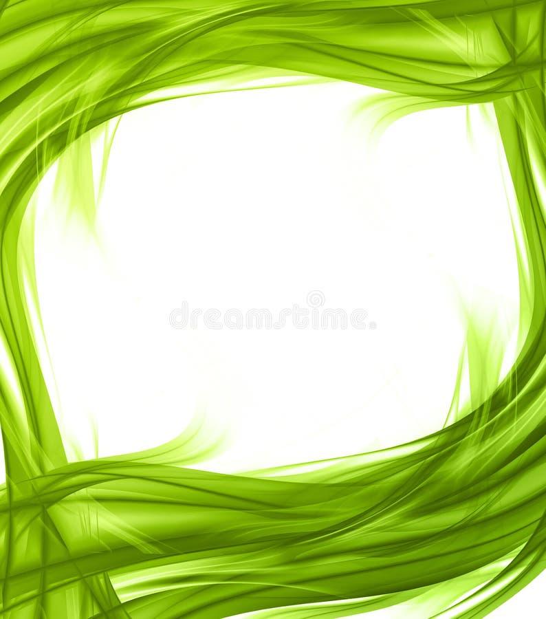 Elegant abstract frame vector illustration