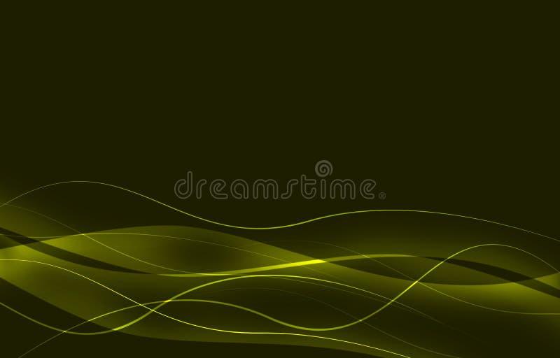 elegant abstrakt bakgrund med vågor stock illustrationer