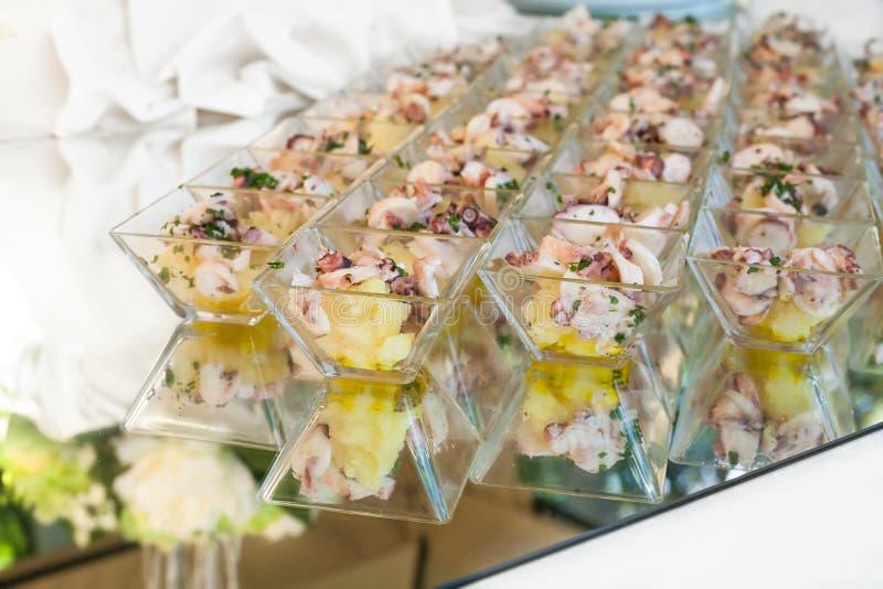 Elegant Appetizers royalty free stock photo