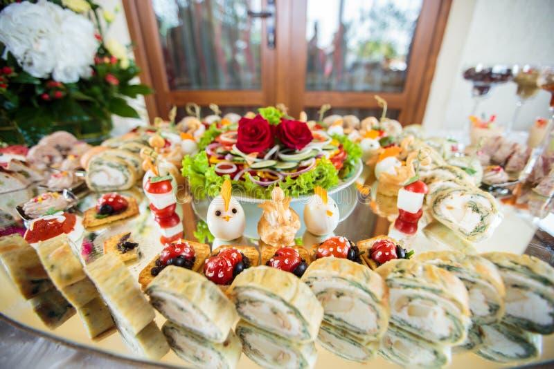 Elegant Appetizers stock photos