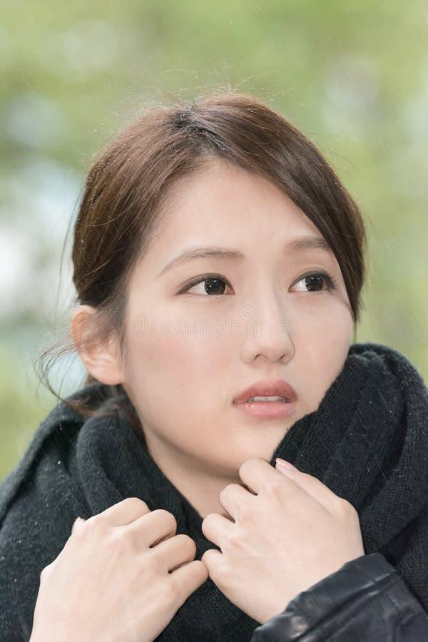 Download Elegant Asian Woman Of Sadness Stock Image - Image of alone, beautiful: 38742927