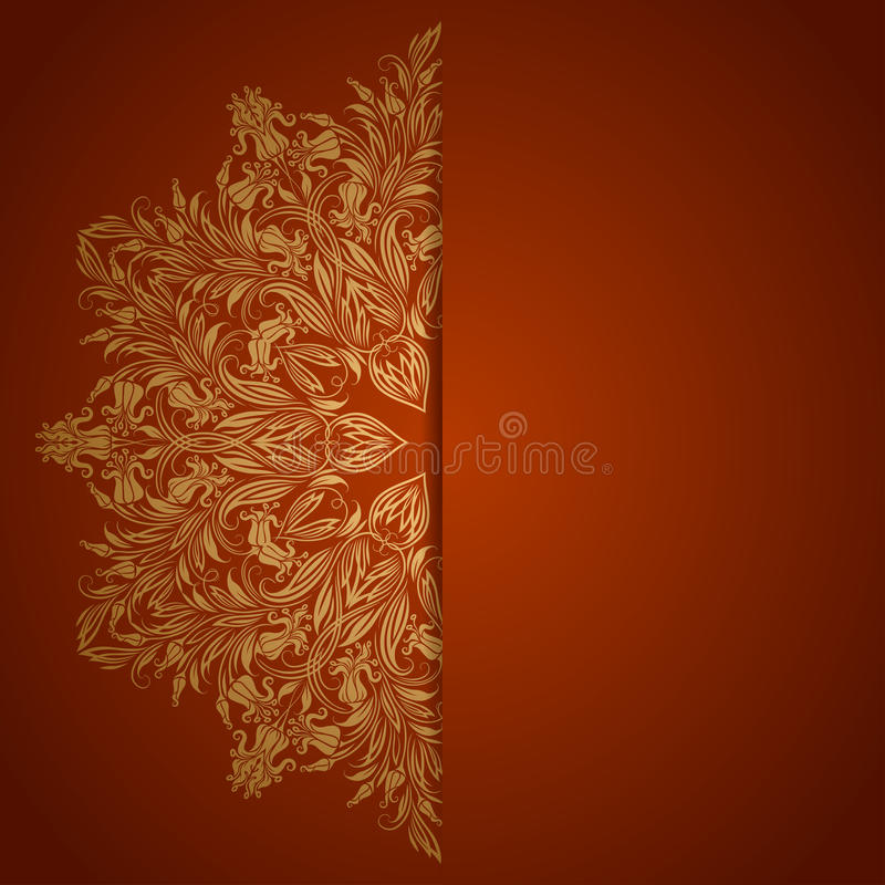 Download Elegant Background With Lace Ornament Stock Vector - Illustration of design, decor: 32466881