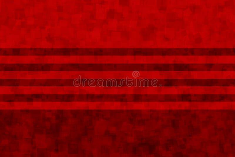 Elegant bakgrund av röda band arkivfoto