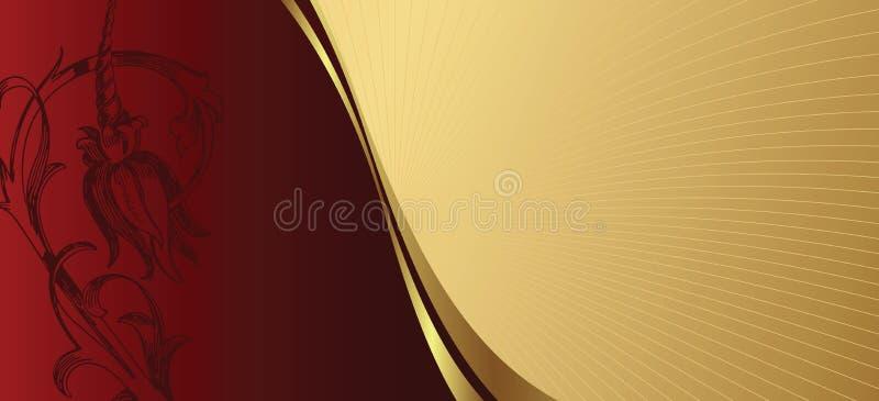 elegant bakgrundsdesign royaltyfri illustrationer