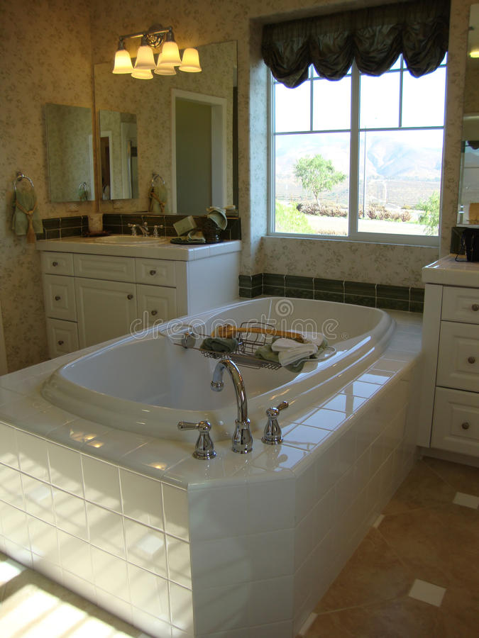 Elegant Bath Room Stock Photo