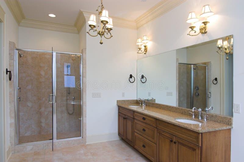 Elegant bathroom royalty free stock photos