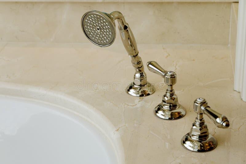 Download Elegant bathtub faucet stock photo. Image of fixture - 21425384
