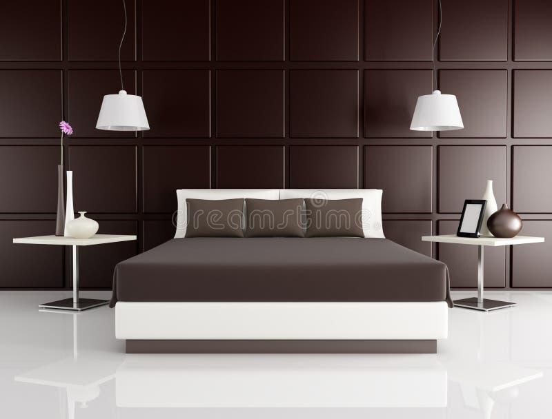Elegant bedroom stock photography
