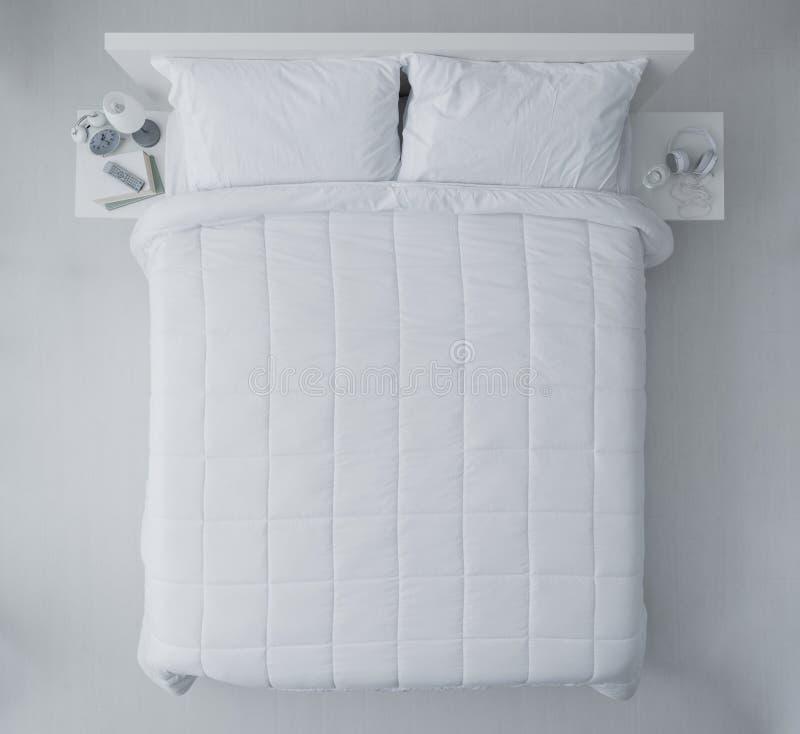Elegant bedroom stock photos