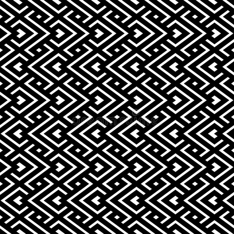Download An Elegant Black And White, Vector Pattern Stock Illustration - Image: 26822421