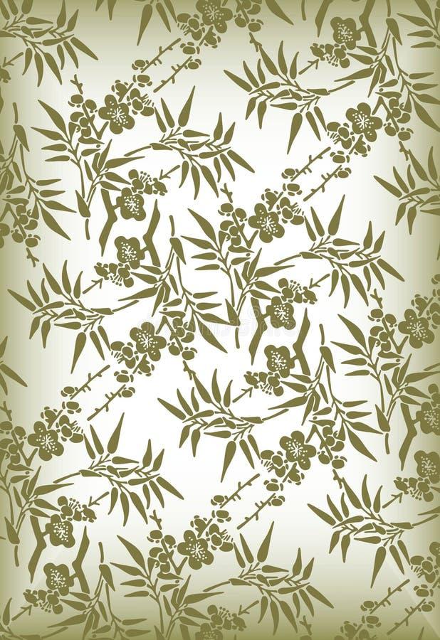 Elegant bloemenpatroon vector illustratie