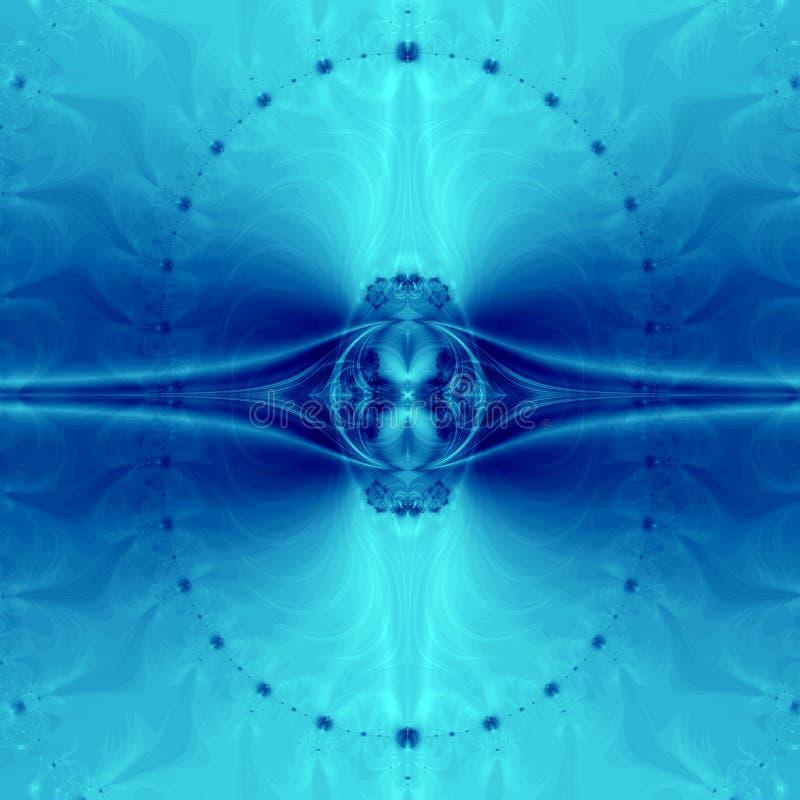 Elegant Blue Abstract Background stock illustration