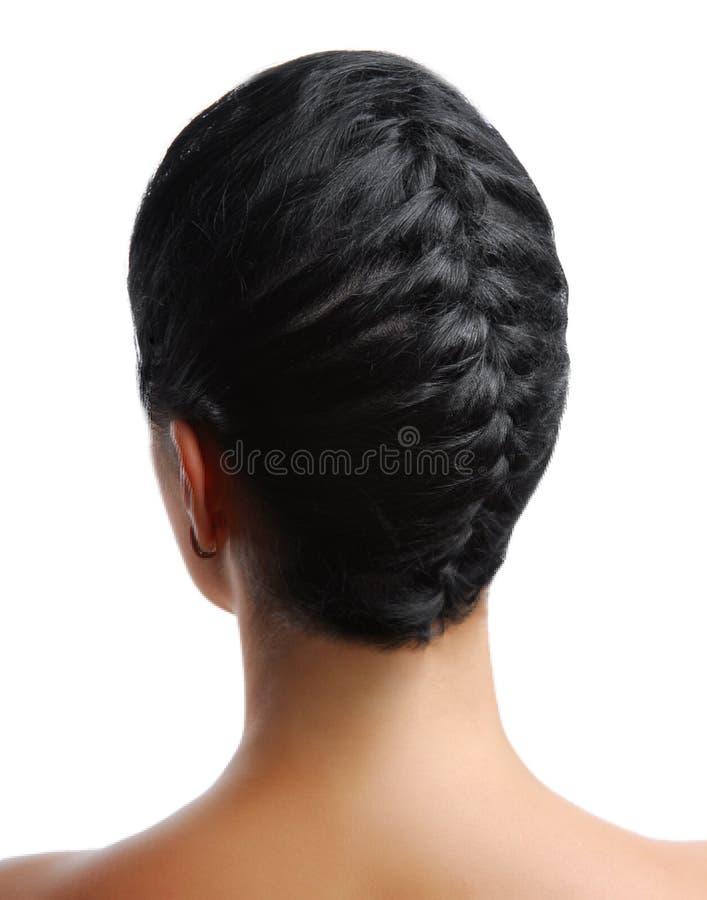 Elegant braid royalty free stock image