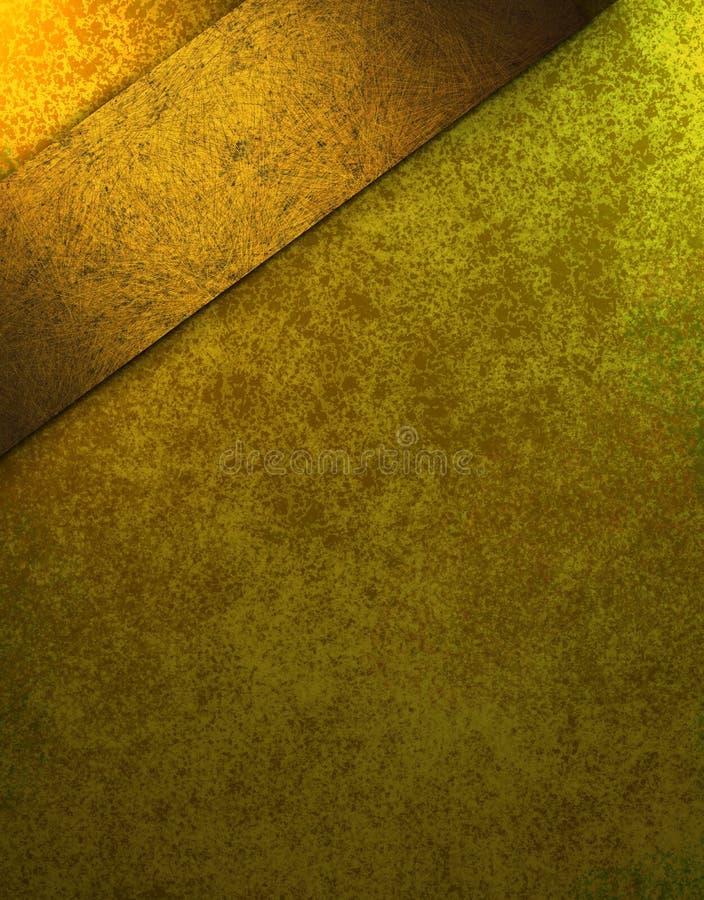 Elegant burnished gold background royalty free stock photo