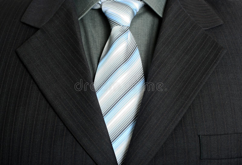 Download Elegant business suit stock photo. Image of knot, stripes - 23647290