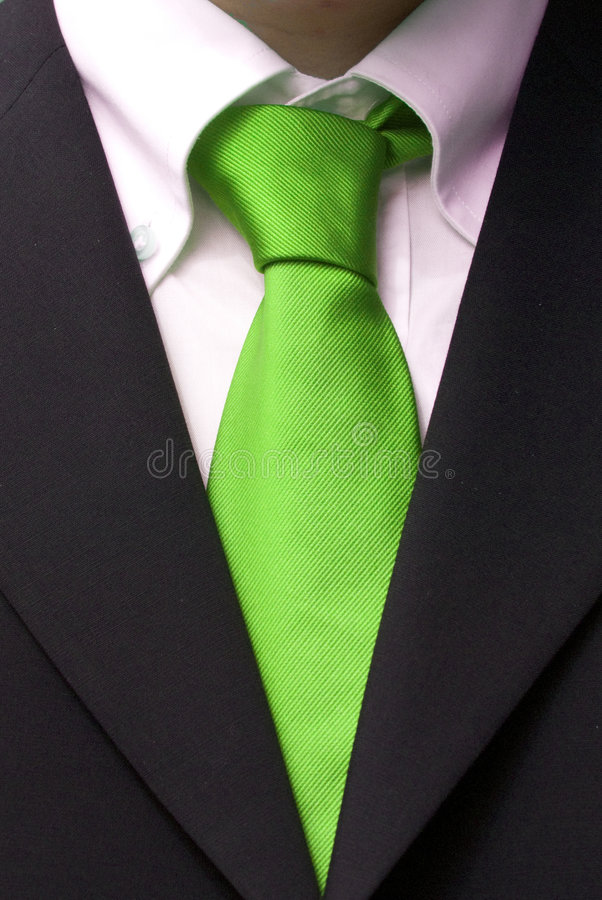 Elegant businessman royalty free stock image