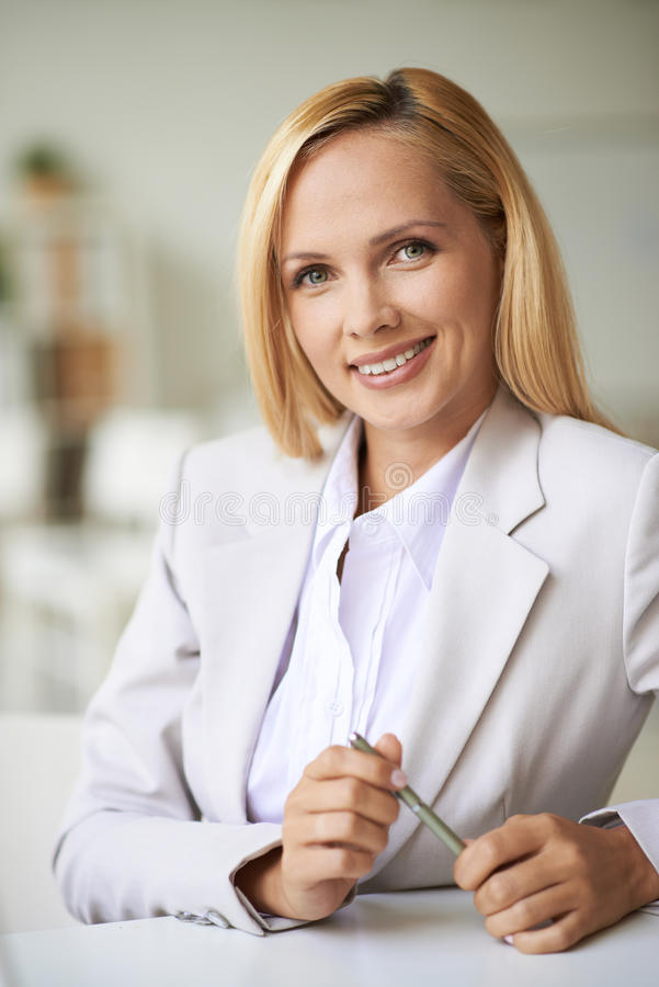 Download Elegant businesswoman stock image. Image of occupation - 34590715
