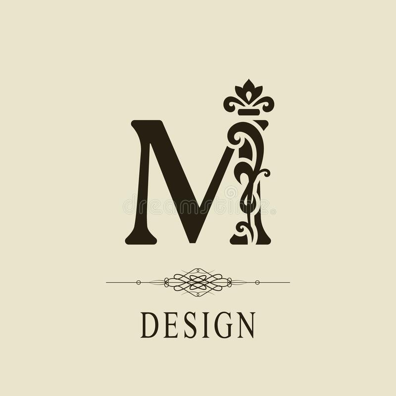 Capital Letter M Curly Stock Illustrations 32 Capital