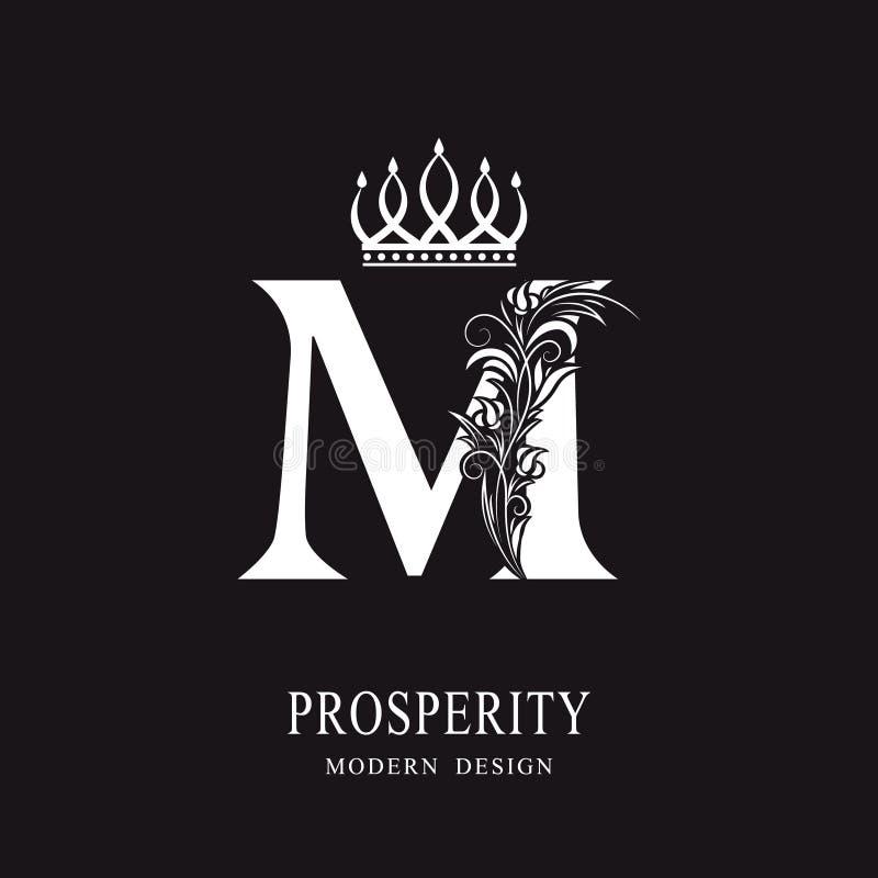Luxury Brand Name Golden Floral Logo Concept Design