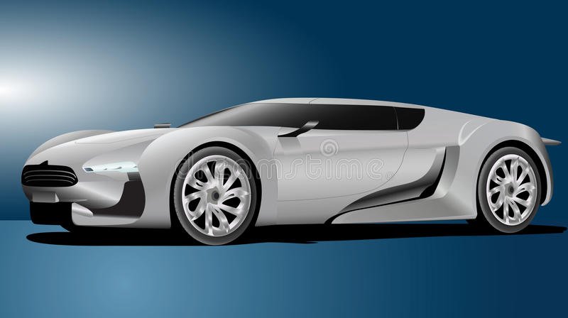 Elegant car vector illustration