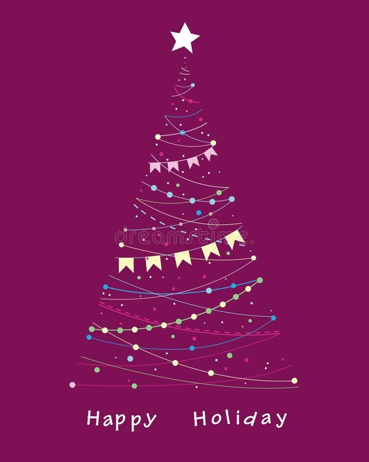 Download Elegant celebratory tree stock vector. Image of tree - 21601146