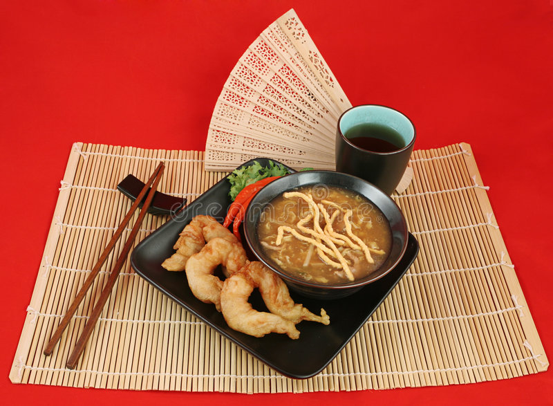Download Elegant Chinese Dinner stock photo. Image of gold, buddhist - 761116