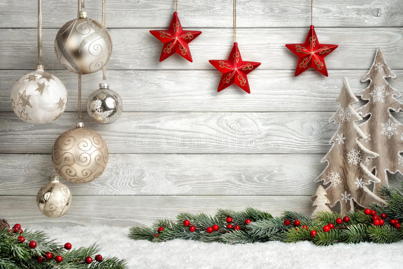 Elegant Christmas background royalty free stock photo