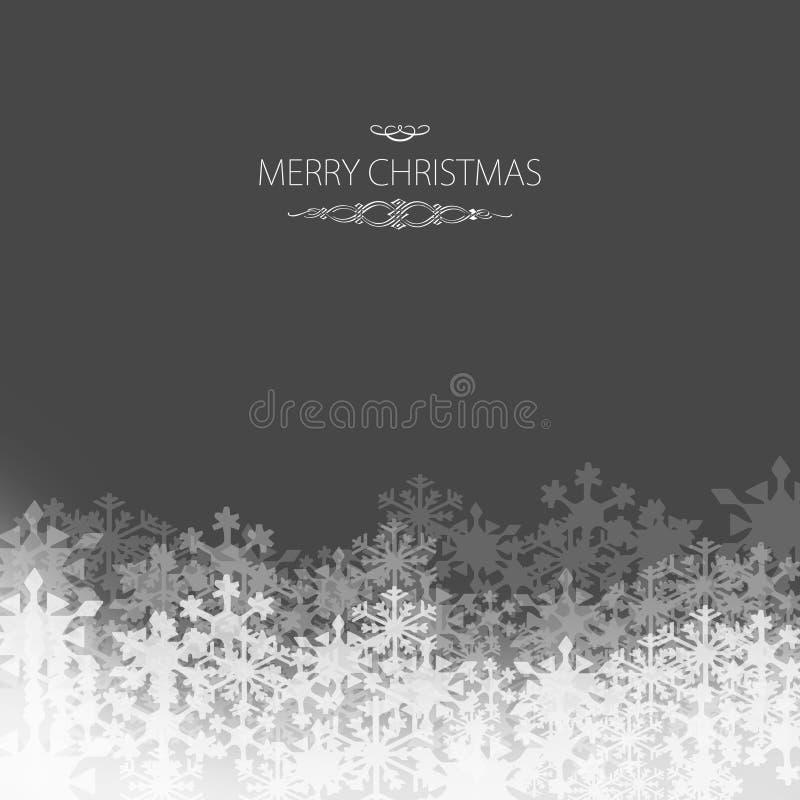 Elegant Christmas card stock photography
