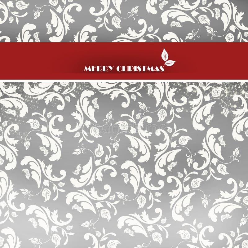 Elegant Christmas card royalty free stock images